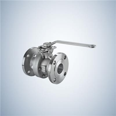 Flange End 3 Piece Cast Steel Trunnion Ball Valve