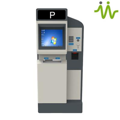 Automatic Parking Payment Stations and Auto Car Park Payment Machines Suppliers / Custom Pay and Display Machine for Parking Lot Revenue Control Systems