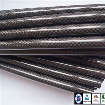 High Performance Reinforcement Carbon Fiber Tube with 3K Twill or Plain Woven Patterns of Glossy or Matte Surface