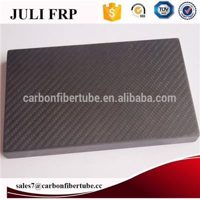 Carbon Fiber Sheet for CNC Cuttling Customized Shape 1mm-15mm Thickness