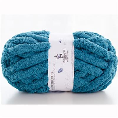 Super Chunky 100% Polyester Fancy Chenille Yarn For Knitting