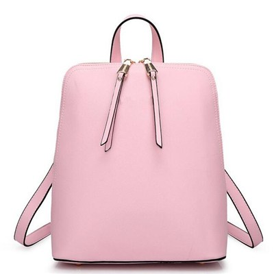Colored Spring Summer Pu Leather Waterproof Backpack For Teen Girls