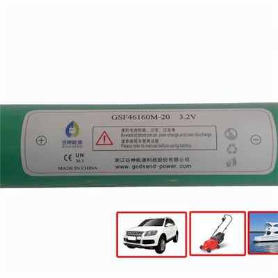 Long Life Lithium Marine 3.2V 20Ah Battery for Motor Vehicle and Lawn Mower