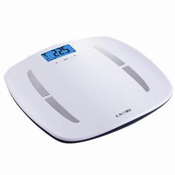 400lbs Blue Backlight Lcd Display Electronic Wireless Health Analysis Body Weight Scale