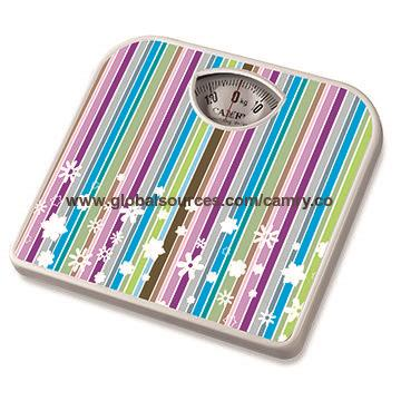 Color Cartoon Plastic Surface Non - Slip Bathroom Scales