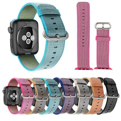 38mm/42mm Apple Watch Woven Nylon Watch Link Wrist Sport Bands
