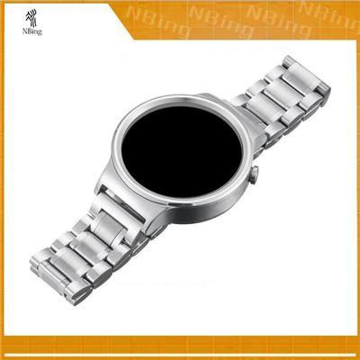 Stainless Steel Link Mesh Metal Straps Wrist Replacement Smart Watch Band For Huawei Smartwatch Hwmlmcs