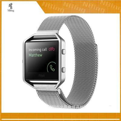 Fitbit Accessories Blaze Stainless Steel Milanese Loop Smart Watch Bands Fitbit One Fitbit Wristband Bands Straps Wrist