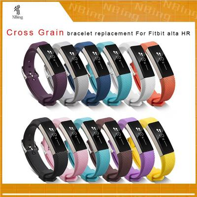 Fitbit Alta Hr Accessories Silicone Smart Bracelet Replacement Band Straps Watch Wristbands