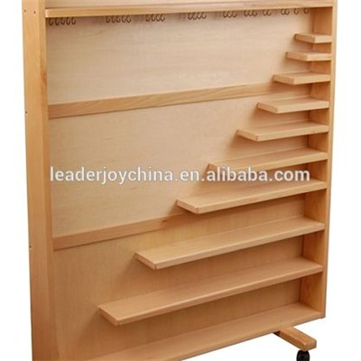 Montessori Furniture Cabinet For Complete Bead Material