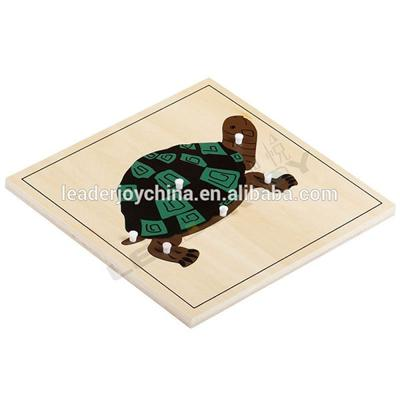 Beechwood Preschool Equipment For Montessori Turtle Puzzle