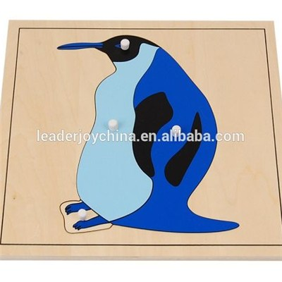 Biological Model Teaching Aids Penguin Puzzle