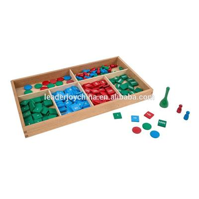 Montessori Educational Toys Stamp Game With CE EN7-1