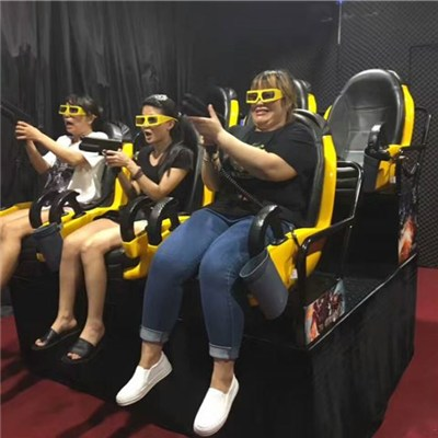Attractive Interactive 7D Cinema With Guns 7D Theater Dynamic Equipment
