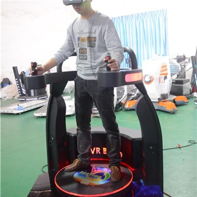 Interactive 9D Virtual Reality Game Machine 360 Degree Platform VR Cinema Simulator 9D VR Shooting Battle