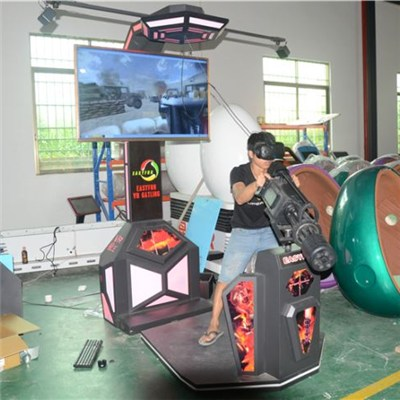 360 Degree 9D VR Gatling Fighting HTC Vive Helmet Virtual Reality For VR Theme Park