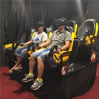 Different Design 6 Seats 9D Virtual Reality Cinema Simulator For Shopping Mall