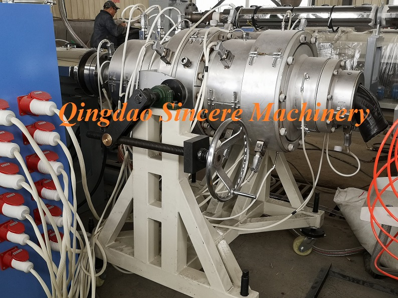 HDPE PE Water|Gas Supply Pipe Extrusion Making Machine
