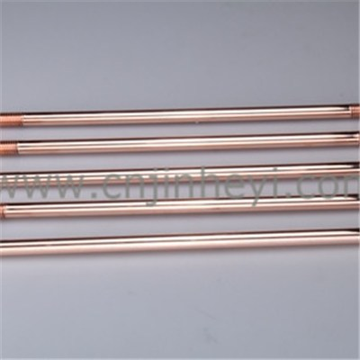 Installing A Pure Copper Or Brass Grounding Rods