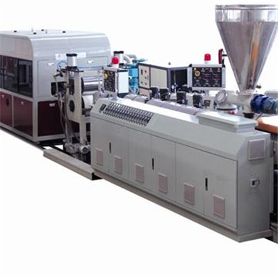 PVC Exterior Wall Pannel Extrusion Line