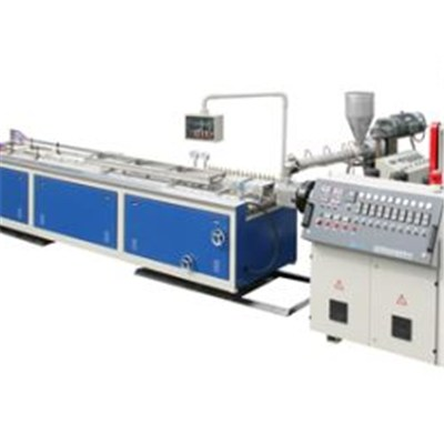 PVC Decorative Foamed Profile Co-extrusion Line