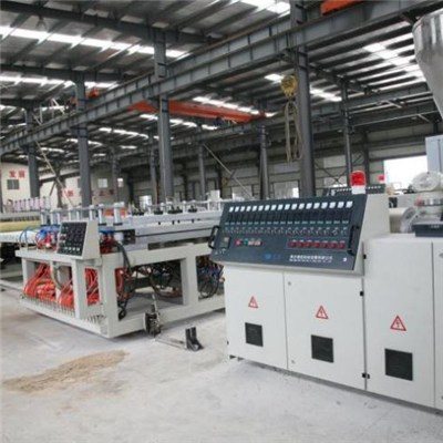 WPC(PVC+wood) Building Template Extrusion Line