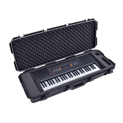 Easy Carrying Hard Case With Wheels For 61 Note/key Musical Keyboard, Performance, Rock Concert