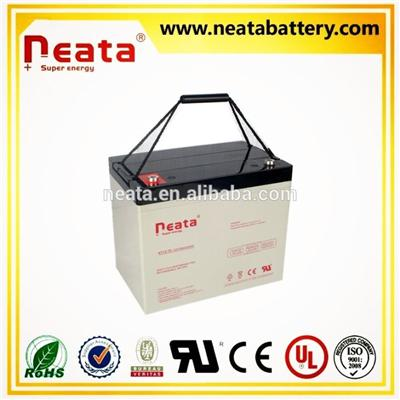 Security Environmental Agm Batteries 12V65AH 70AH Deep Cycle
