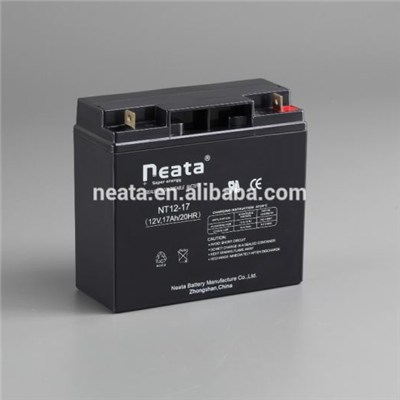 High Rate Deep Cycle Battery Solar Agm Battery Security System 12V18ah
