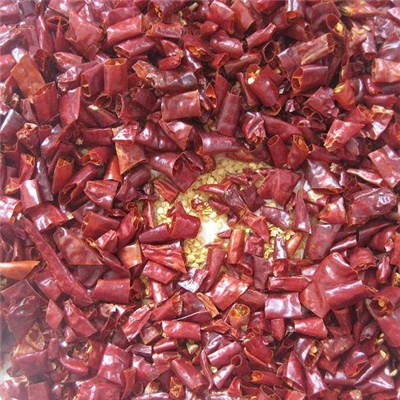 An Essential Ingredient Seasoning Dried Chopped Chili Can Be Used for Cooking Poultry, Fish or Other Food of Good Seasoning
