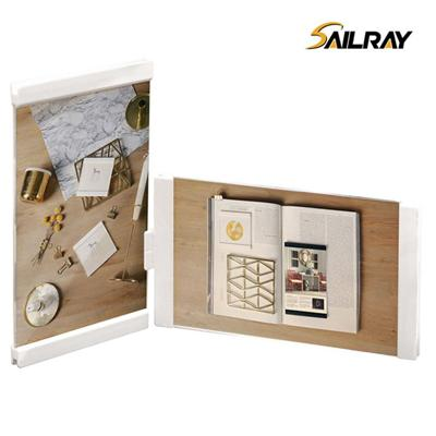 6 Inch White Personalized Acrylic Creative Picture Frame For Home Decoration Two Piece Sets Leggy Horse
