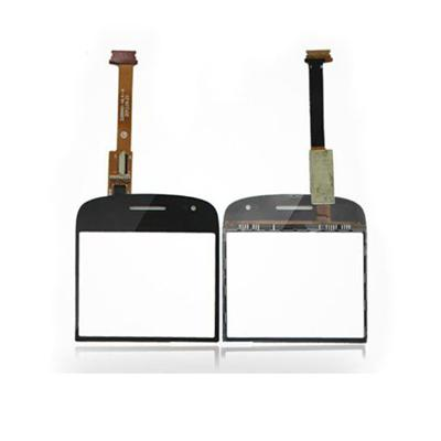 Mobile Phone Repair Parts Touch Screen Digitizer Front Panel Glass Lens For BlackBerry Bold 9900, For Blackberry