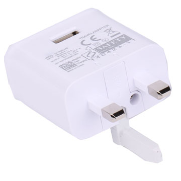 White OEM Charger/adapter EP-TA20UWE For Samsung S8 UK Spec