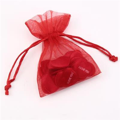 Sheer Drawstring Organza Jewelry Pouches Wedding Party Christmas Favor Gift Bags