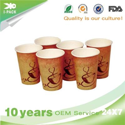 Printed Takeaway Hot Coffee Cups In Bulk