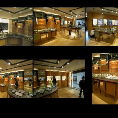 Emperor Watch Counter Makes Watches, Showcase, Solid Wood And Stainless Steel, Shop Decoration, Luxury Commercial Furniture, Watch Shop, Stainless Steel Showcase Production