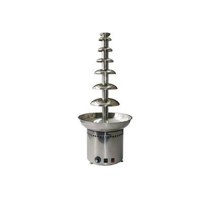 Electric Stainless Steel Chocolate Fountain 7 Tiers Machinery