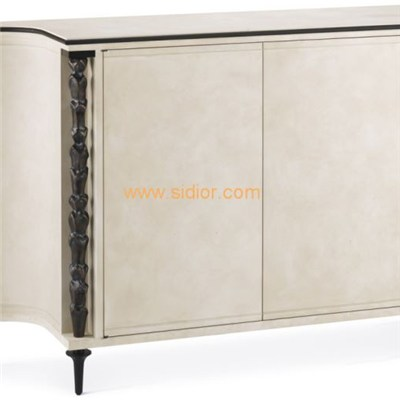 Hotel Lobby Home White Wood Console Table