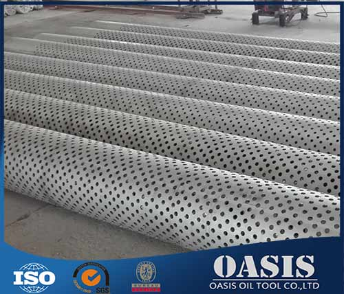 Hot Manufacture Perforated Pipes Filter
