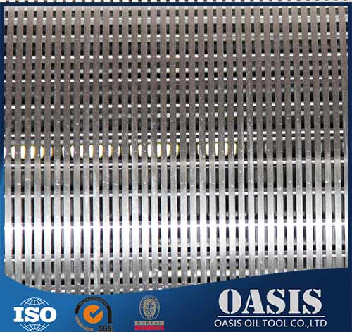 Manufacture Stainless Steel Pipe Base Well Screen for Sand Control