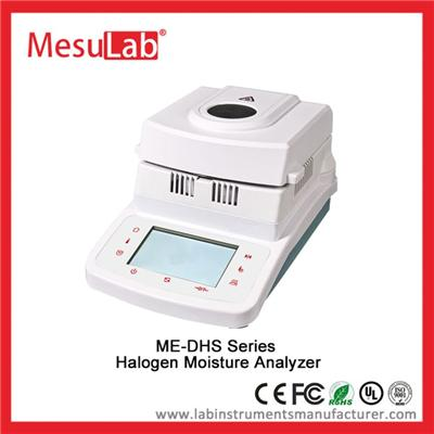 Halogen Moisture Testing Machine Bench Top Professional 100 G With RS232 And For Test Water Content