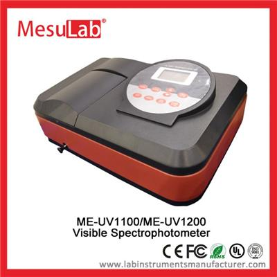 Auto UV VIS Spectrophotometer Large Memory 200 To 1000 Nm Range For Clinical Analysis
