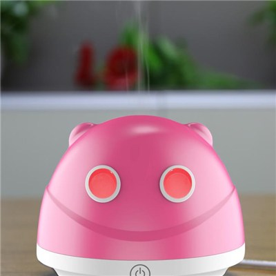 5V Mini USB 80ml Ultrasonic Aroma Diffuser with Touch Control Button