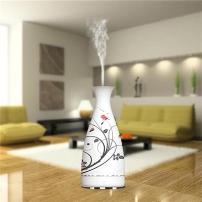 Cool Mist Aroma Humidifier Ceramic Shell Advanced Essential Oil Diffuser