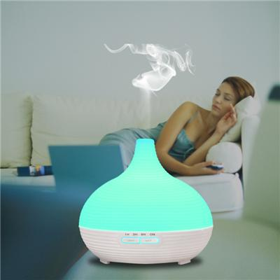 300ml large size Aroma Diffuser With Cool Mist And 7 Colors large humidifiers