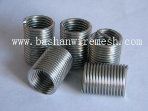 newest screw locking standard wire threaded inserts with high quality