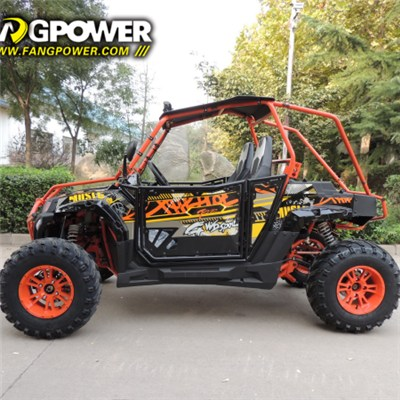 china 400cc  shaft drive kids side by side utv 4x4