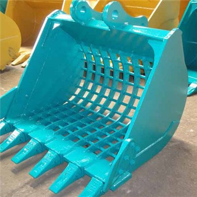 Excavator Mini Kobelco SK70 Skeleton Bucket/ Screening Bucket, Skeleton Bucket Capacity 0.4cbm