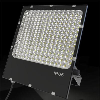 High quality MeanWell driver Philip chip 200w black  led flood light