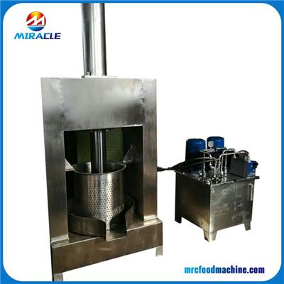 Hydraulic Type Coconuts Milk Pressing Machine With High Extraction Efficient